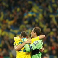 Slavlje fudbalera Ukrajine
