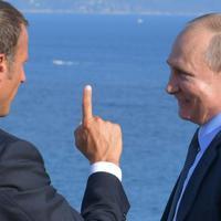 Makron i Putin