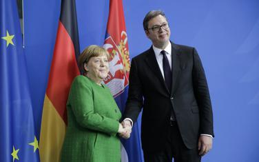 Merkel i Vučić