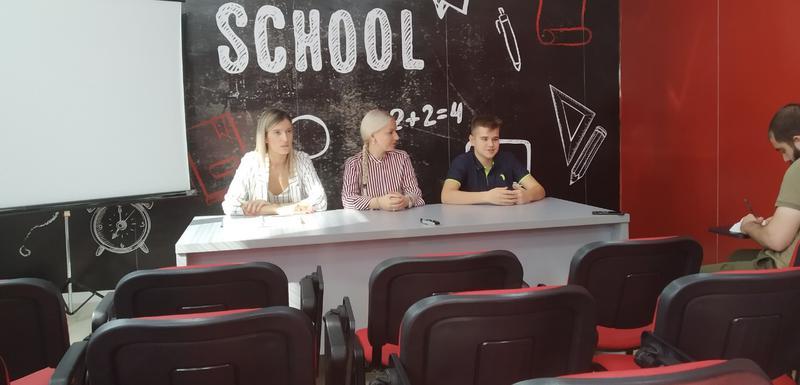 Sa prezentacije u Andrijinoj školi