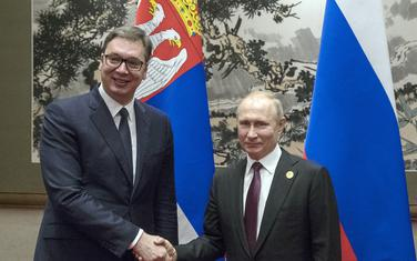 Sa jednog od susreta predsjednika Srbije Aleksandra Vučića i predsjednika Rusije Vladimira Putina