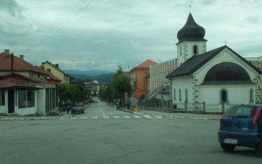 Trg patrijarha Varnave u Pljevljima