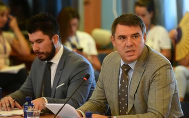 Aleksandar Drljević sa kolegama nedavno pred Odborom za evropske integracije
