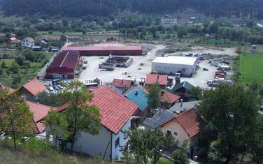 Lokacija u Ševarima gdje se planira baza