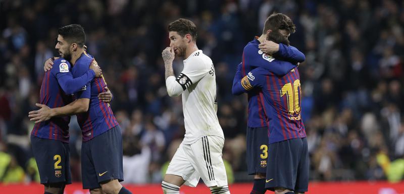 Sa meča Barselona - Real