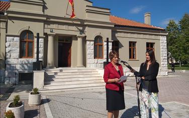 Potpredsjednica Opštine, Sonja Nikčević