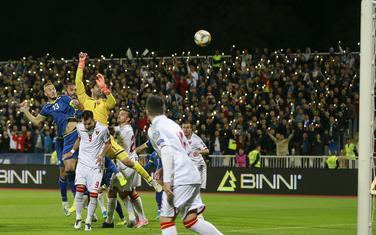 Povrijeđeni Petković je pogrešno procijenio let lopte kod prvog gola Kosova