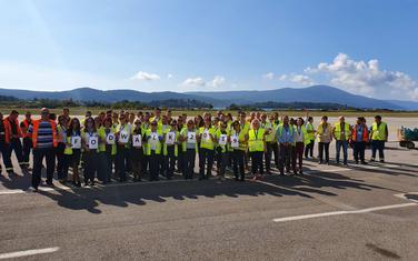 Sa FOD šetnje na Aerodromu Tivat