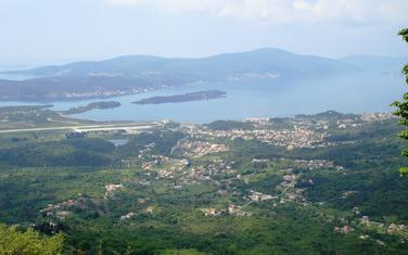 Pogled sa Vrmca na područje Gradiošnice