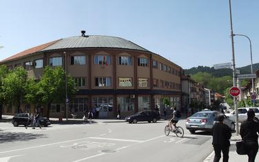 Zgrada Opštine u centru grada