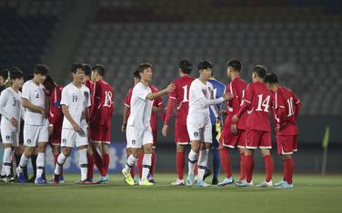 Sa meča Sjeverna Koreja - Južna Koreja