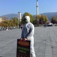 Sa performansa u Pljevljima