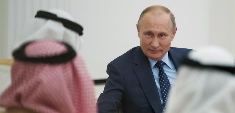 Putin u Abu Dabiju u junu 2018. godine