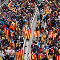 Katalonski demonstranti