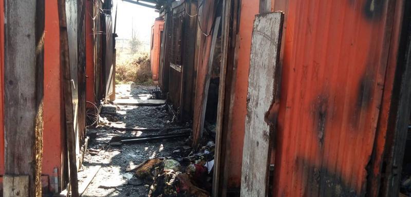 U požaru uništen kontejner