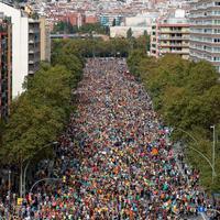 Štrajk u Barseloni: Na hiljade demonstranata blokrialo glavni grad Katalonije