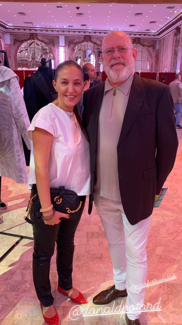 Marina Banović i Donald Potard