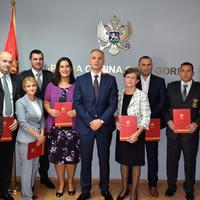Nagrađeni službenici