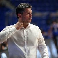 Petar Mijović na utakmici Erste lige