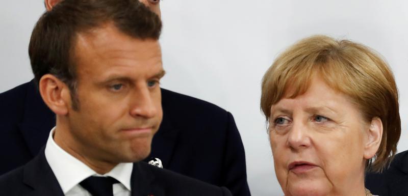 Različiti stavovi oko niza tema: Makron i Merkelova