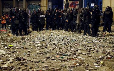Policija na ulicama Barselone