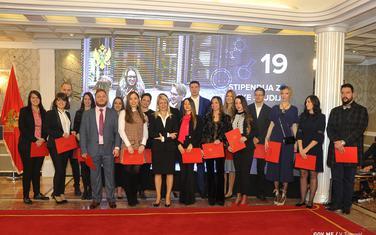 Damjanović među prošlogodišnjim dobitnicima stipendija