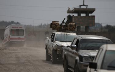 Borci sirijske opozicije koje podržava Turska