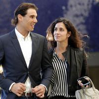 Rafael Nadal i Marija Fransiska