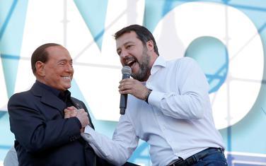 Berluskoni i Salvini