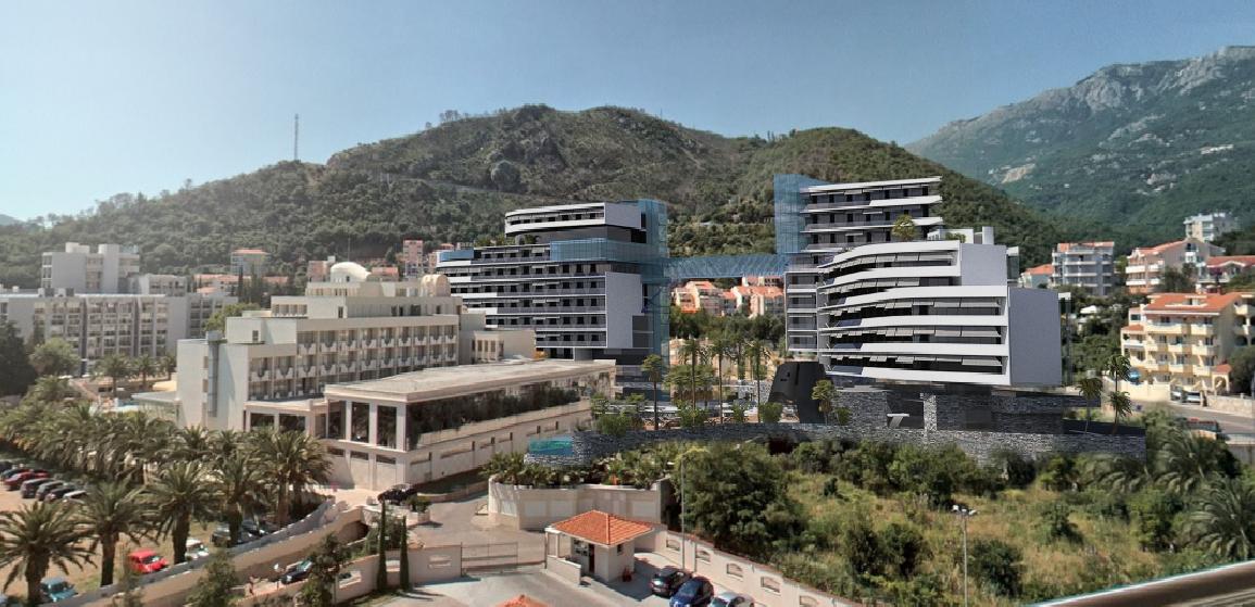 Planirani izgled hotela (animacija)