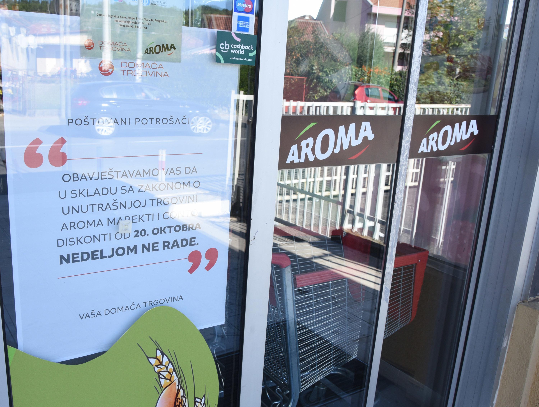Neradna nedjelja u Podgorici (foto: Zoran Đurić)