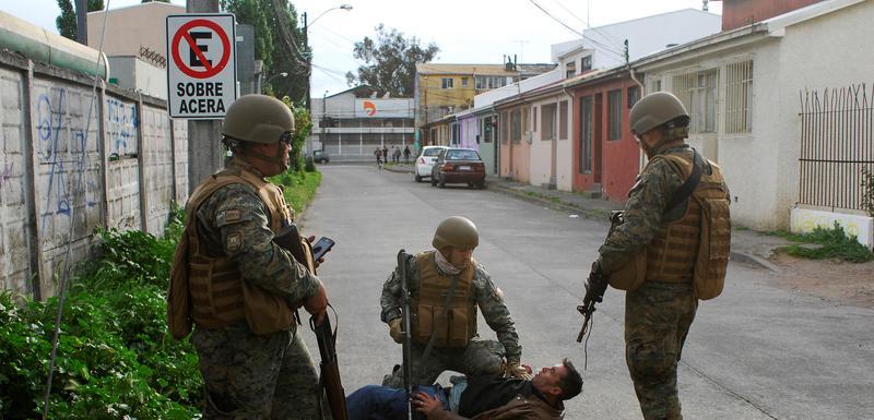 Vojnici hapse osumnjičenog za pljačku apoteke