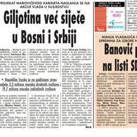 """Stranica """"Vijesti"""" od 21. oktobra 2009."""