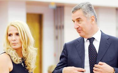 Lidija i Milo Đukanović