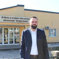 """Direktor """"Sergija Stanića"""", Darko Vukčević"""