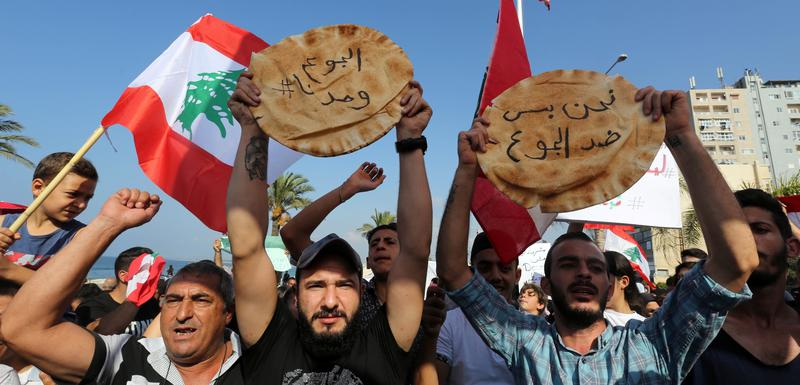 Sa protesta u Libanu