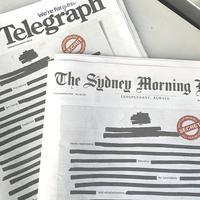 """Australijske najveće novinske kuće - Dejli telegraf i Sidnej morning herald - """"cenzurisale"""" su naslovne strane u ponedeljak"""