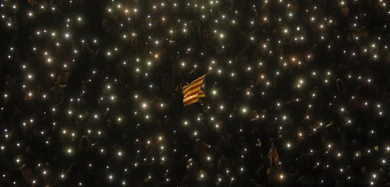 Sa protesta u Barseloni