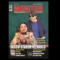 """Jedna od naslovnica """"Monitor"""""""