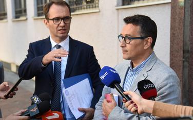 Radosavljević i Jovanović juče ispred Višeg suda