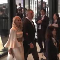 Milo i Lidija Đukanović u Japanu