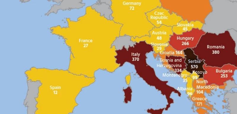 Mapa sa podacima