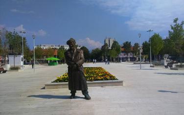 Speminuk Ljubu Čupiću u centru Nikšića