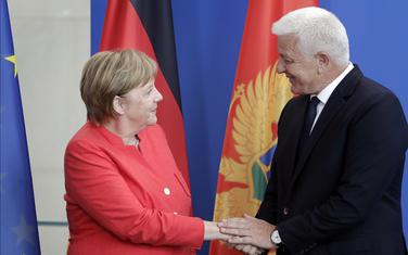 Angela Merkel i Duško Marković