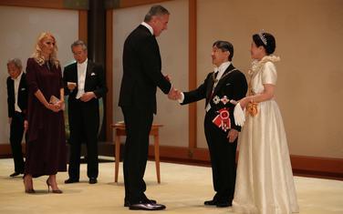 Sa prijema nakon ceremonije ustoličenja