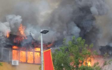 Vatra progutala gotovo svu imovinu