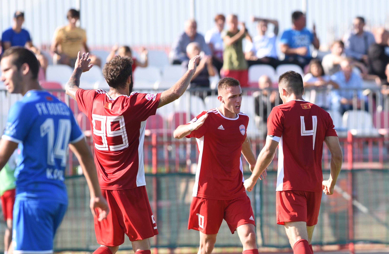 Fudbaleri OFK Titograda slave gol protiv Bokelja
