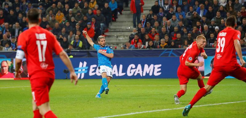Mertens postiže gol u Salsburgu