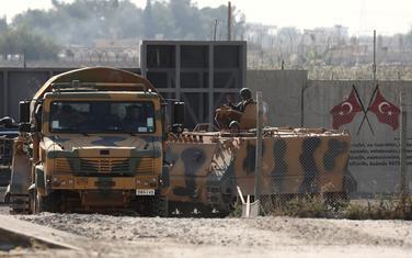 Turski vojnici na granici sa Sirijom