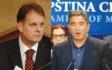 Slavoljub Stijepović i Nebojša Medojević